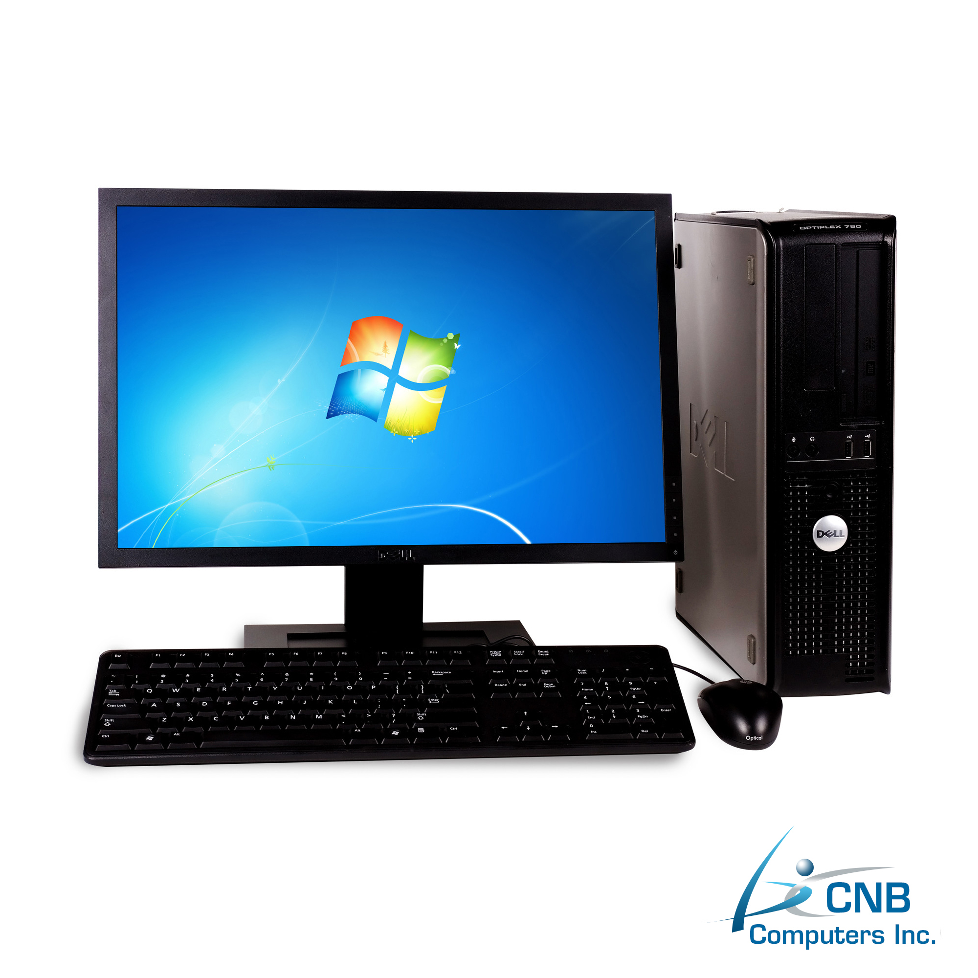 dell gx760 combo 2gb 160gb hdd intel core 2 duo 2 4ghz dell 20 lcd cnb. Black Bedroom Furniture Sets. Home Design Ideas