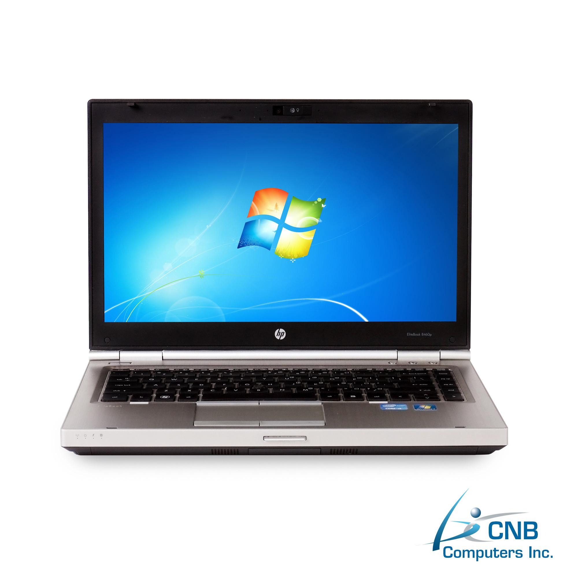HP ELITEBOOK 8460P LAPTOP, 4GB, 250GB HDD, INTEL i5 2520M 2 5GHz | CNB